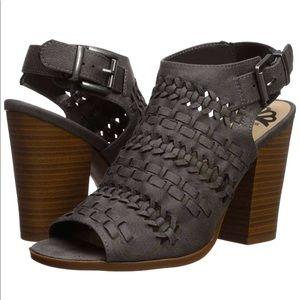 Fergalicious Braided Open Toe Sandals Denim